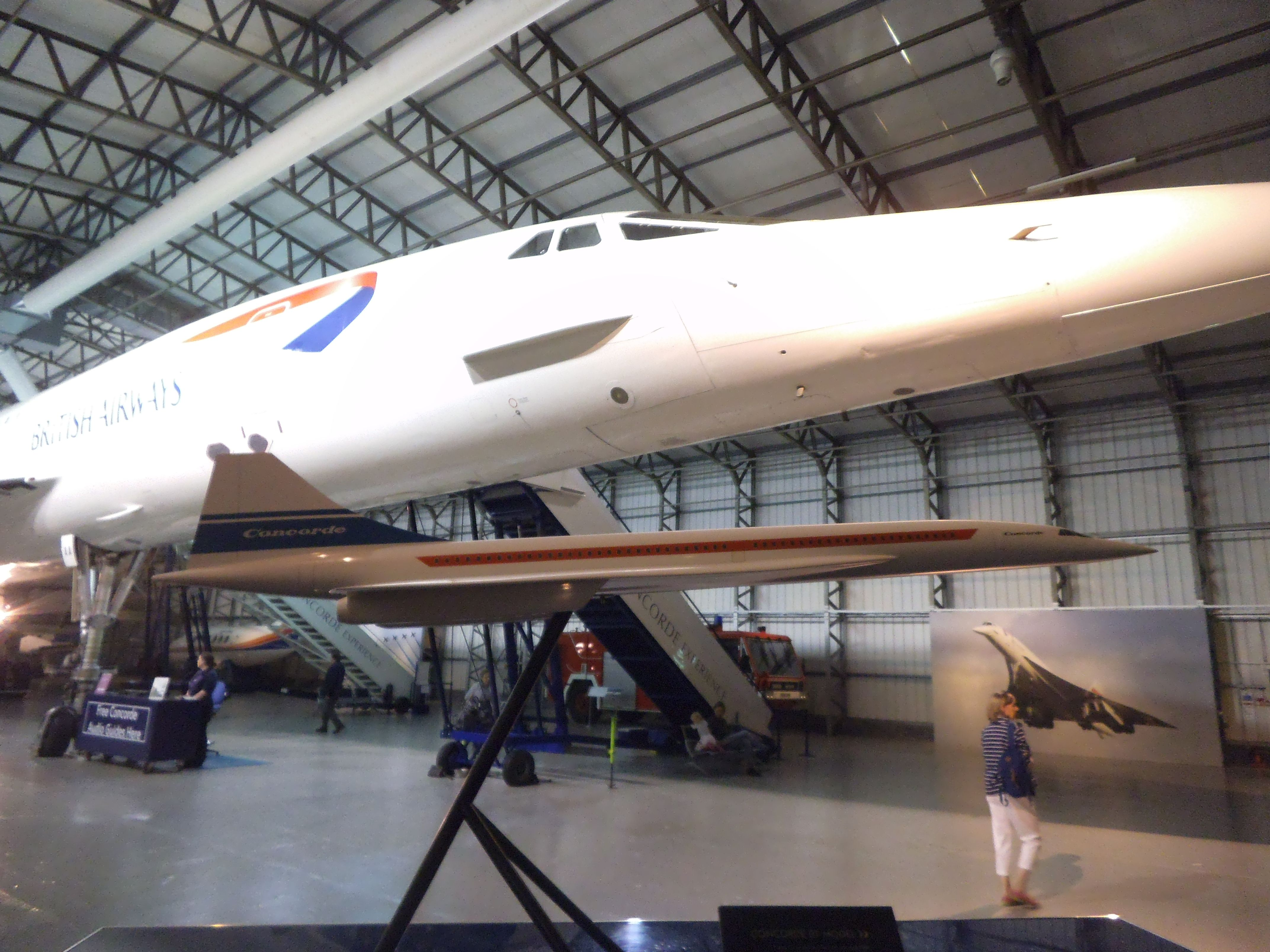 BAC/Sud Aviation Concorde G-BOAA